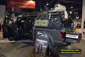 MUSCLECARSZONE @ 2015 SEMA SHOW! Walkaround VIDEOS, PHOTOS & MORE ... 37605b Road Armor Stealth Front Winch Bumper Lonestar Guard Tag Middle East Fzc Image Result For Armoured F150 Trucks Pinterest Dupage County Sheriff Ihc Armor Truck Terry Spirek Flickr Album On Imgur Superclamps For Truck Decks Ottawa On Ford With Machine Gun On Top 2015 Sema Motor Armored Riot Control Top Sema Lego Batman Two Face Suprise Escape A Lego 2017 F150 W Havoc Offroad 6quot Lift Kits 22x10 Wheels