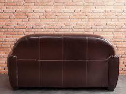 canapé vieux cuir canapé 3 places convertible 2 fauteuils clubs croûte de