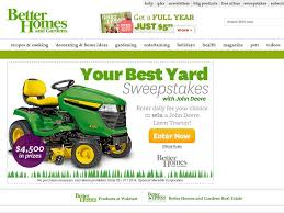 Homes and Gardens Your Best Yard Sweepstakes