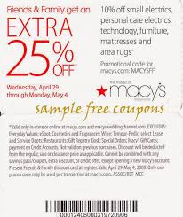 Macys Thanksgiving Coupons Printable / Wcco Dining Out Deals