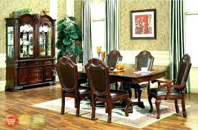 Dining Table And Hutch Corner Room Sets With Enthralling