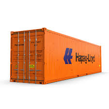 100 Shipping Container Model 40 Feet High Cube Hapag Lloyd Shipping Container