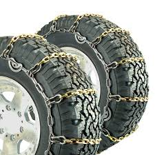 100 Snow Chains For Trucks Titan Alloy Square Link Truck CAM Tire On Road Ice 55mm