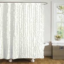 White Ruffle Curtains Target by Shower Curtains Ruffle Shower Curtain White Bathroom Decoration