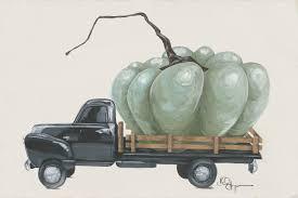 100 Commercial Truck Paper Pumpkin Print Etsy