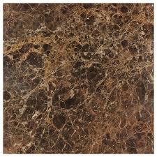12 x12 emperador polished marble floor and wall tile