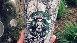 PHOTOS Artist Turns Starbucks Coffee Cups Into Creative Art Works