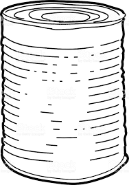 Tin can sketch royalty free tin can sketch stock vector art & more images