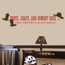 Shop All Decals Boys Wall Decals Boots Chaps And Cowboy Hats