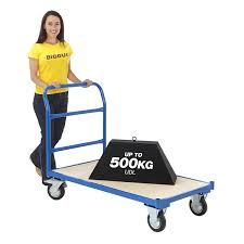 100 Flatform Truck Heavy Duty Platform Cart Bed Platform S