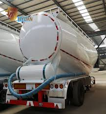 100 Semi Truck Trailers Hyuan Tri Axles 45cbm Tanker Bulk Cement Carrier Cement Bulker For Sale Buy 3 Axles Bulk Cement Tanker Trailer Container