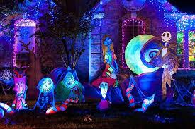 Nightmare Before Christmas Zero Halloween Decorations by Pretty Nightmare Before Christmas Halloween Decorations 2017