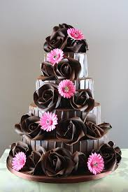 Chocolate Rose & Sugar Flower Design