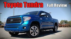 2018 Toyota Tundra: Full Review | Platinum, 1794 Edition, TRD Sport ...