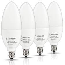 lohas led candelabra bulb dimmable led 75watt light bulbs