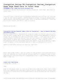 100 Craigslist Cars Trucks Austin Tx Vero Beach 2 Image Wallpaper Database