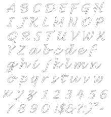 Printable Alphabet Stencils Freepsychiclovereadings Weekly Planner