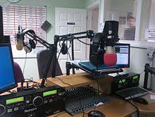 The Studio At Ridge Radio In Caterham England
