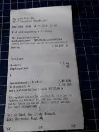 Agb Brief National Deutsche Post