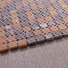 wholesale vitreous mosaic tile pattern glazed glass