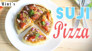 Indian Style Suji Pizza Recipe Easy Recipes In Hindi Breakfast