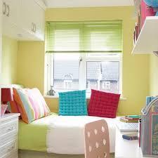 Simple Small Bedroom Storage Ideas For Room Colorful Bright Interior Desk Wardrobe