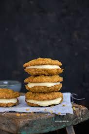 haferflocken möhren cookies mit eierlikör creme