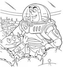 Buzz Lightyear Coloring Pages Picture 14 550x587