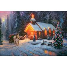 Thomas Kinkade Christmas Tree For Sale by Blessings Of Christmas U2013 Limited Edition Art The Thomas Kinkade