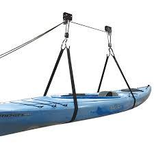 Kayak Hoist Ceiling Rack by Malone Auto Racks Kayak Hammock Deluxe Hoist System Outdoorplay Com