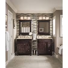 allen roth 3 Light Merington Brushed Nickel Standard Bathroom