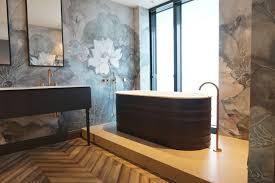 fugenlose design böden fugenloser putz im bad beton cire