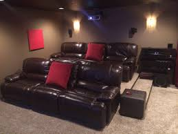 Fancy Maroon Home Theater Theme Color Decoration With White ... The 25 Best Home Theater Setup Ideas On Pinterest Movie Rooms Home Seating 12 Best Theater Systems Seating Interior Design Ideas Photo At Luxury Theatre With Some Rather Special Cinema Theatre For Fabulous Chairs With Additional Leather Wall Sconces Suitable Good Fniture 18 Aquarium Design Basement Biblio Homes Diy Awesome Cabinet Gallery Decorating