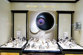Wempe Jewelry Windows Display In Mannheim