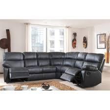canap d angle cuir canapé d angle demi cuir avec 2 relax panel meuble magasin de