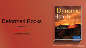 Chapter 7 Dynamic Earth Eric H Christiansen