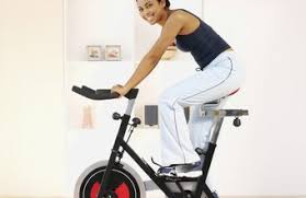 An Exercise Bike Doesnt Take Up Much Space In A Home Gym