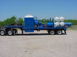 100 Frac Truck Chandler Manufacturing LLC Oil Industrial Construction
