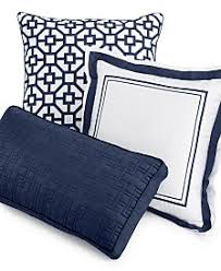 Macys Sofa Pillow Covers by Hotel Collection Embroidered Frame Decorative Pillow Collection