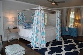 Moroccan Lattice Curtain Panels by Threshold Blue Dot Lattice Curtain Panel
