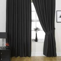 Faux Silk Eyelet Curtains by Eyelet Ring Top Faux Silk Curtains