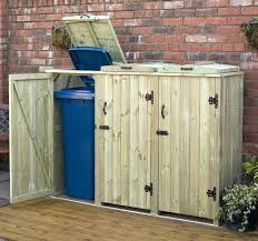 Rubbermaid Storage Cabinets Home Depot by Storage Bins Rubbermaid Garbage Storage Bins Outdoor Wooden Bin
