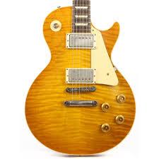 100 Gibson Custom Homes Shop 60th Anniversary 1959 Les Paul Standard VOS Golden Poppy Burst 2019 99408