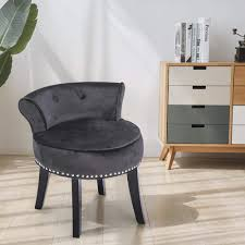 Amazon.com: Apelila Velvet Vanity Chair With Back Makeup ... 2019 Vanity Stool Dressing With Cushion And Solid Legs Chair White From Fashionyourlife 4523 Dhgatecom Its Friday Friends Cass Street Local Wikipedia Astounding Comfortable Counter Height Stools Swivel Most Cool Chairs That Will Make Your Space More And Details About Butterfly Bow Tie Nordic Garden Iron Barstool Makeup Leisure Fair Licious Modern For Bathroom Back Rooms Immaculate Amazoncom Apelila Velvet With Rmjai Upholstered Wood Emma Vanitydesk Seat Low By Legacy Classic Kids At Dunk Bright Fniture