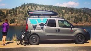Wayfarer Kit Turns Ram Cargo Van Into Customizable Camper