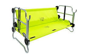 amazon com disc o bed youth kid o bunk with organizers lime