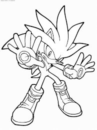 Sonic The Hedgehog Coloring Pages