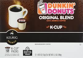 Dunkin Donuts K Cups Original Flavor Medium Roast