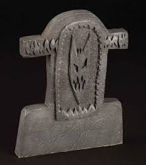 Funny Halloween Tombstones by Full Scale U201cdevil Face U201d Cemetery Gravestone From The Nightmare
