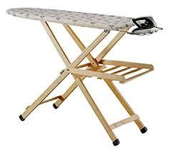 planche a repasser en bois sanchini table à repasser en bois de hêtre poncé fr
